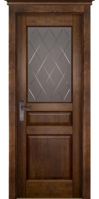 Дверь Валенсия ПО Античный орех