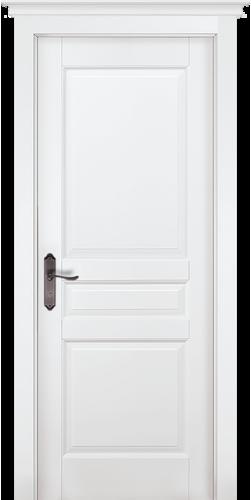 Дверь Валенсия ПГ белая эмаль