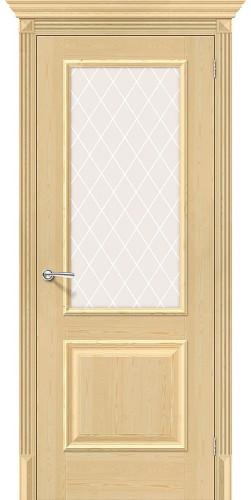 Дверь из массива Классико-13 со стеклом без отделки