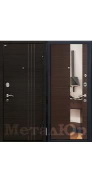 Входная дверь МеталЮр М15 венге
