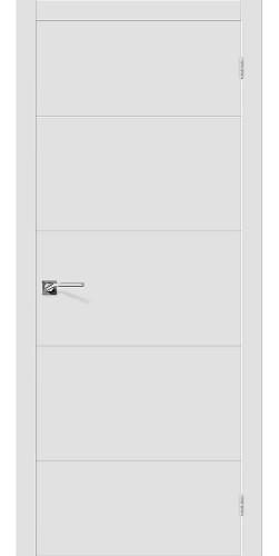 Межкомнатная дверь окрашенная Скинни-2 Whitey