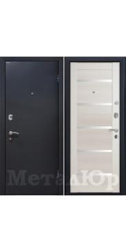 Входная дверь МеталЮр М41 эш вайт