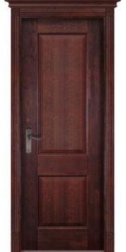 Дверь Классика №1 ПГ махагон