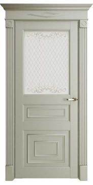 Дверь FLORENCE 62001 ДО серена светло серый