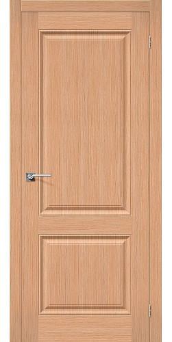 Дверь шпонированная глухая Статус-12 цвет Ф-01 (Дуб)