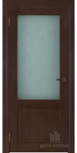 Дверь межкомнатная ВЕРСАЛЬ 40004 со стеклом экошпон цвет дуб французский