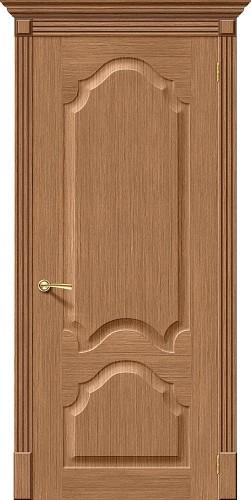 Межкомнатная дверь шпонированная Афина ПГ Ф-02 (Дуб)