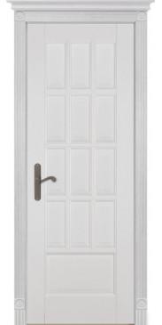 Дверь Лондон 1 ПГ белая эмаль