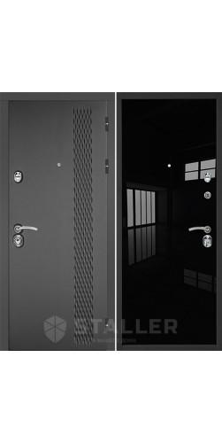 Вхоная дверь Лика черный люкс