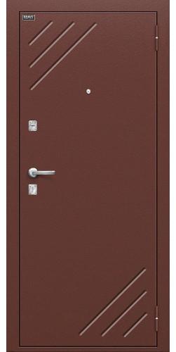Входная дверь Стандарт Антик Медь/М-12 (МиланОрех)