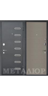 Входная дверь МеталЮр М29 Дуб французский серый