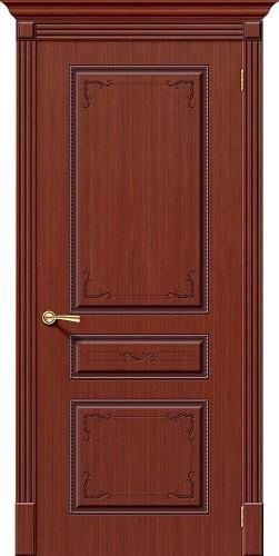 Дверь шпонированная глухая Классика цвет Ф-15 (Макоре)