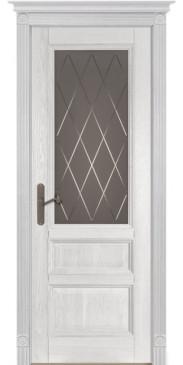 Дверь Аристократ №2 ПО белый