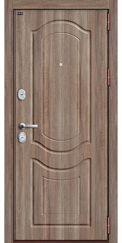 Входная дверь Р3-300 П-1 (Темный Орех)/П-1 (Темный Орех)