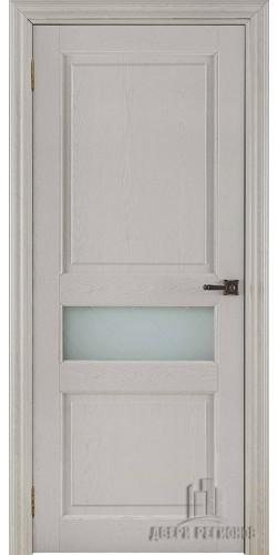 Дверь межкомнатная ВЕРСАЛЬ 40008 со стеклом экошпон цвет ясень перламутр