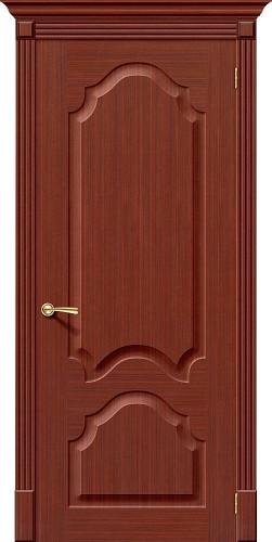 Межкомнатная дверь шпонированная Афина ПГ Ф-15 (Макоре)