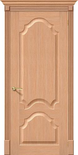 Дверь шпонированная глухая Афина ПГ Ф-01 (Дуб)