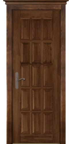 Межкомнатная дверь из массива Лондон 2 ПГ античный орех