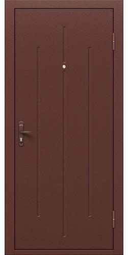 Входная дверь Стройгост 5-1 Антик Медь/Л-17 (Золотистый Дуб)