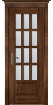 Дверь Лондон 1 ПО античный орех