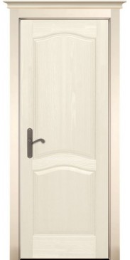 Дверь Лео Браш ПГ слоновая кость