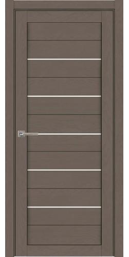 Дверь межкомнатная  Light 2127 SoftTouch со стеклом экошпон цвет тортора