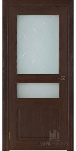 Дверь межкомнатная ВЕРСАЛЬ 40006 со стеклом экошпон цвет дуб французский