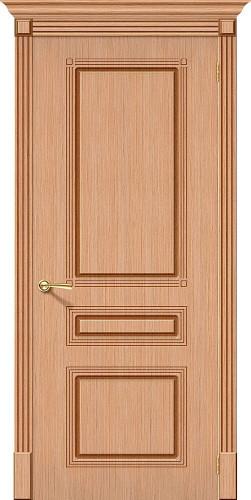 Межкомнатная дверь шпонированная Стиль ПГ Ф-01 (Дуб)