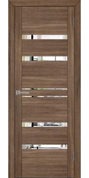 Дверь UniLine 30030 Зеркало серый велюр