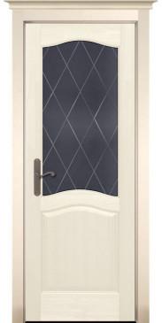 Дверь Лео Браш ПО слоновая кость