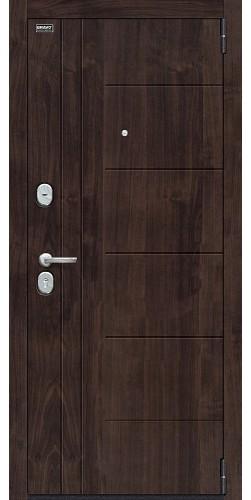 Входная дверь Модерн_NEW П-28 (Темная Вишня)/Wenge Veralinga