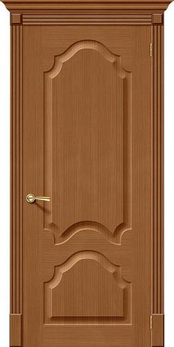 Дверь шпонированная глухая Афина ПГ Ф-11 (Орех)