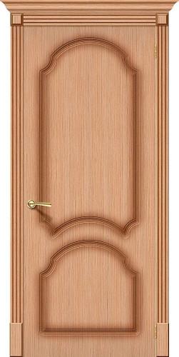 Дверь шпонированная глухая Соната цвет Ф-01 (Дуб)
