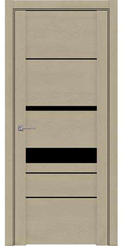 Дверь межкомнатная  UniLine 30023 SoftTouch со стеклом экошпон цвет кремовый