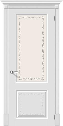 Межкомнатная дверь окрашенная Скинни-13 Аrt Whitey