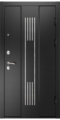 Дверь входная Luxor - 28 цвет черный муар