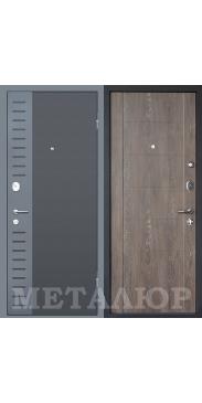 Входная дверь МеталЮр М28 Дуб шале корица