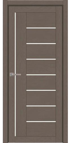 Дверь межкомнатная  Light 2110 SoftTouch со стеклом экошпон цвет тортора