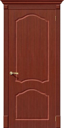 Дверь шпонированная глухая Каролина цвет Ф-15 (Макоре)