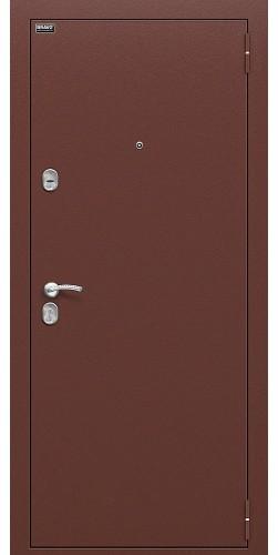 Входная дверь Старт Антик Медь/П-28 (Темная Вишня)
