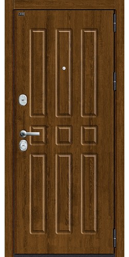 Входная дверь Р3-303 П-26 (Французский Дуб)/П-25 (Беленый Дуб)