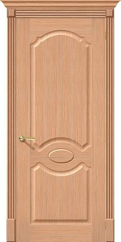 Дверь шпонированная глухая Селена цвет дуб