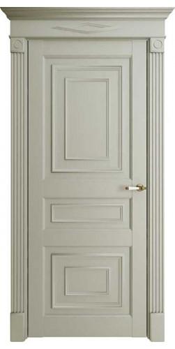 Дверь межкомнатная FLORENCE 62001 глухая экошпон цвет серена светло серый