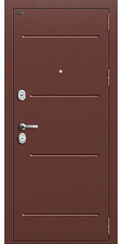 Входная дверь Т2-204 Антик Медь/Wenge Crosscut