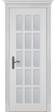 Дверь Лондон 2 ПО белая эмаль