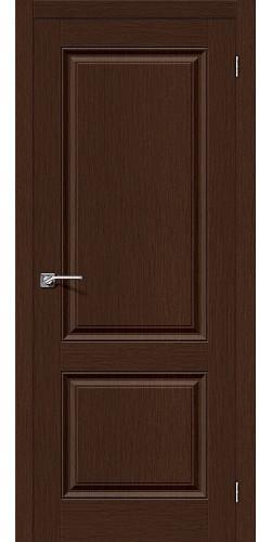 Дверь шпонированная глухая Статус-12 цвет Ф-27 (Венге)