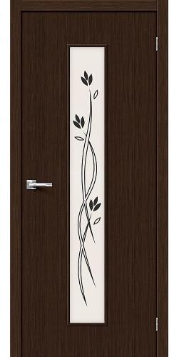 Межкомнатная дверь 3D Тренд-14 3D Wenge
