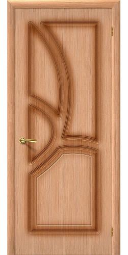 Дверь шпонированная глухая Греция цвет Ф-01 (Дуб)