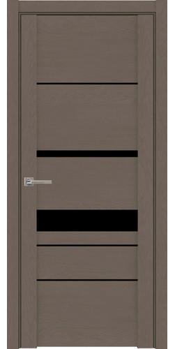Дверь межкомнатная  UniLine 30023 SoftTouch со стеклом экошпон цвет тортора