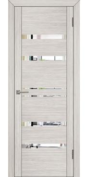 Дверь UniLine 30030 Зеркало капучино велюр